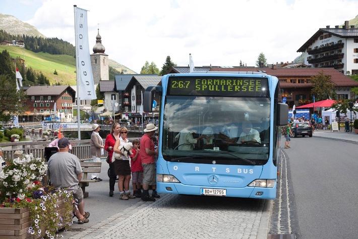 Autofrei den Urlaub genießen: Lech Zürs setzt konsequent auf Nachhaltigkeit