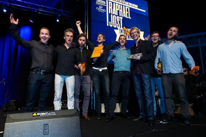 Media Service: Raphael Jost lauréat du Swiss Jazz Award 2015