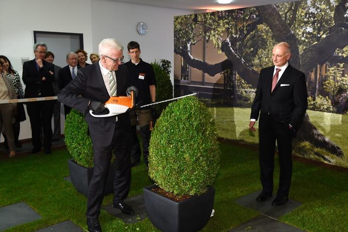 STIHL weiht Neubauten für 90 Millionen Euro ein