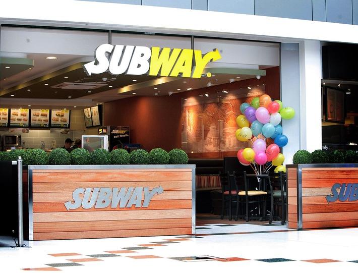 Subway® Sandwiches eröffnet 5.000 Restaurants in Europa