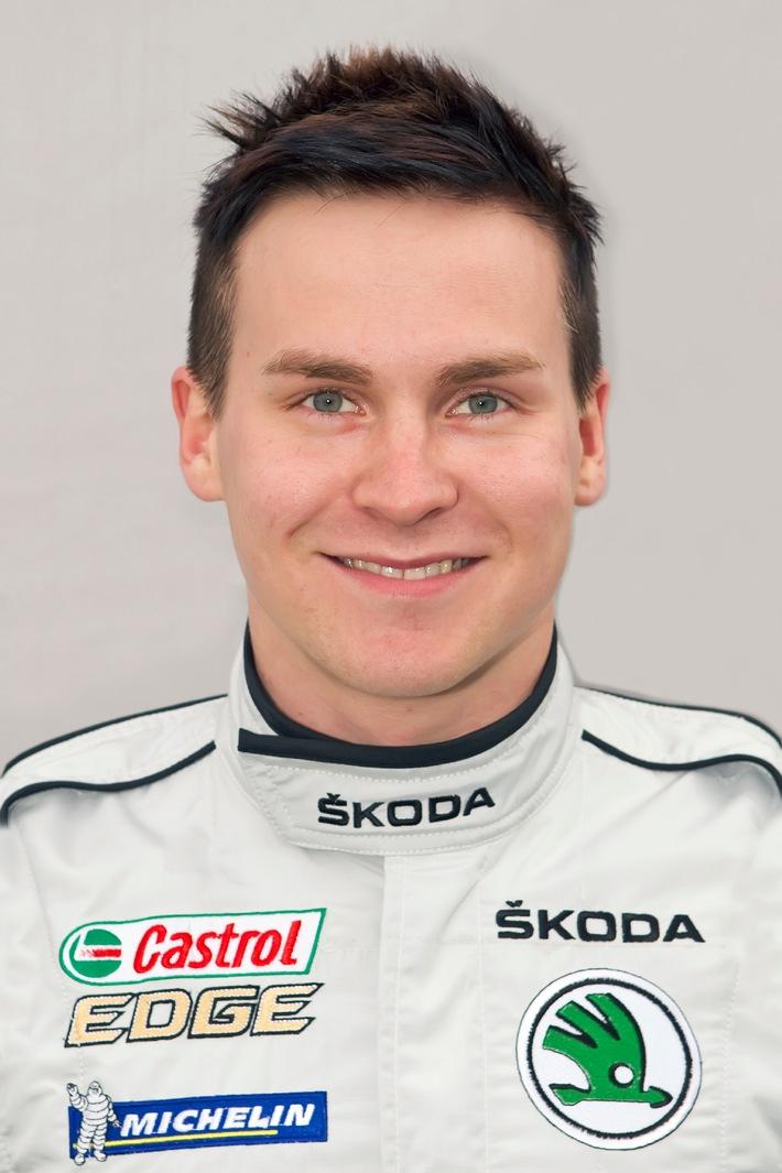 SKODA Motorsport 2013: Esapekka Lappi, WRC-2-Teilnahme, neue Herausforderungen (BILD)