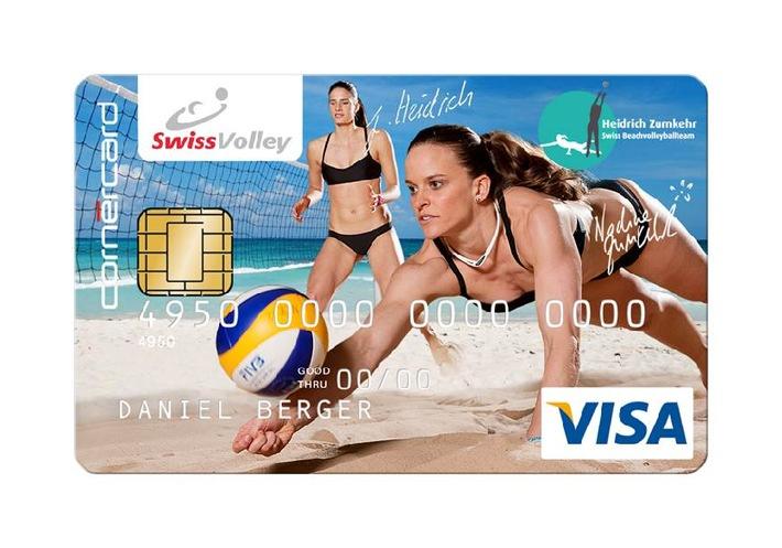 Nouvelles ambassadrices de la marque: les pros du beach-volley Joana Heidrich et Nadine Zumkehr rejoignent Cornèrcard
