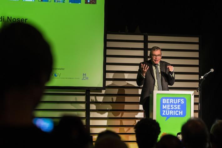 Start zur zwölften Berufsmesse Zürich