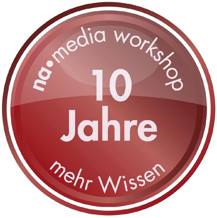 Die media workshops von news aktuell feiern 10-jähriges Jubiläum