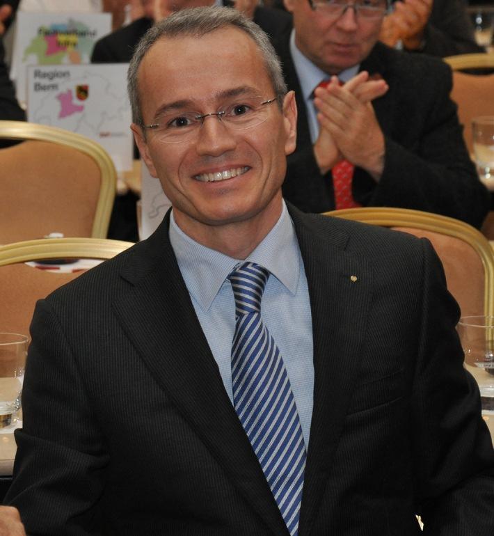 Schweizerischer Baumeisterverband wählt Gian-Luca Lardi als neuen Zentralpräsidenten
