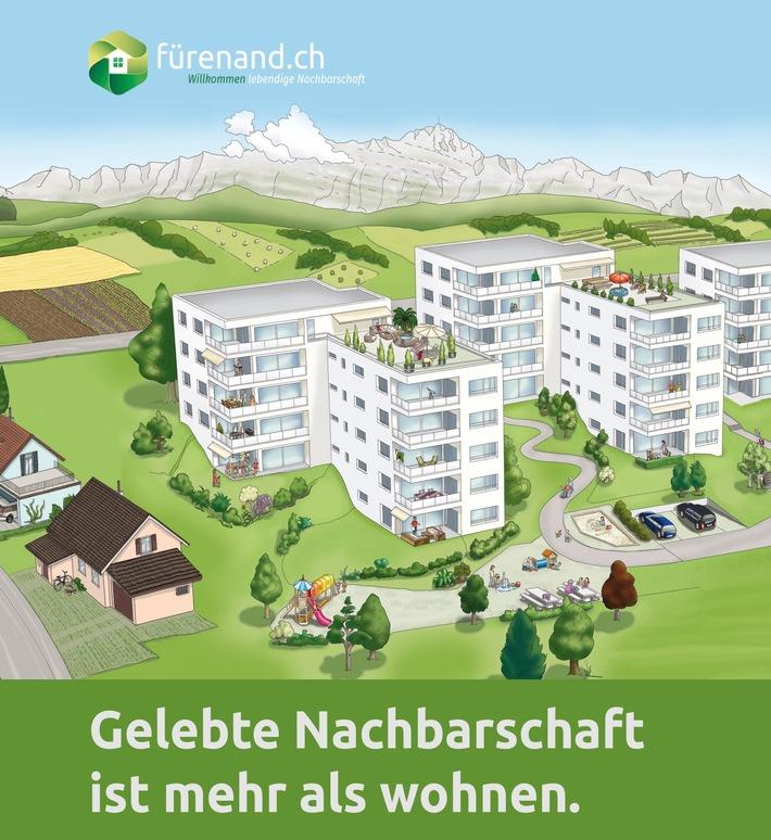 Nachbarschaftshilfe 2.0 mit «fürenand.ch»