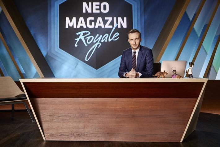 """NEO MAGAZIN ROYALE""-Projekt erhält Webvideopreis 2017"