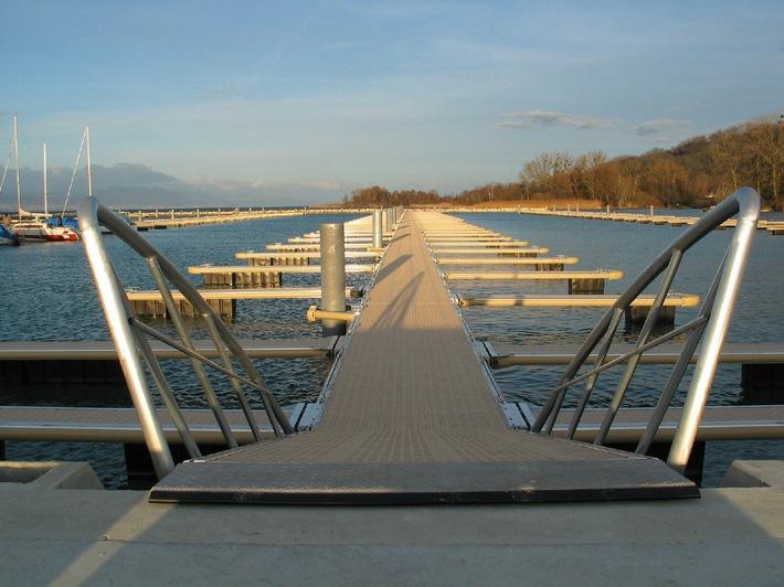 Port Intercommunal de Cheyres-Châbles: Un port ultra moderne