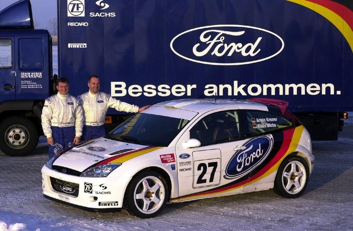 """Armin Kremer beim Saisonstart bei der """"Monte"""" erstmals auf Ford Focus RS WRC"""