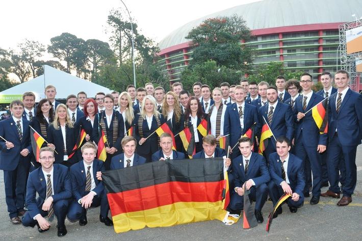 Deutsche Champions greifen nach Gold bei WM der Berufe WorldSkills Sao Paulo 2015