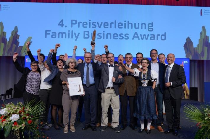 Wyon AG insignita del Family Business Award 2015