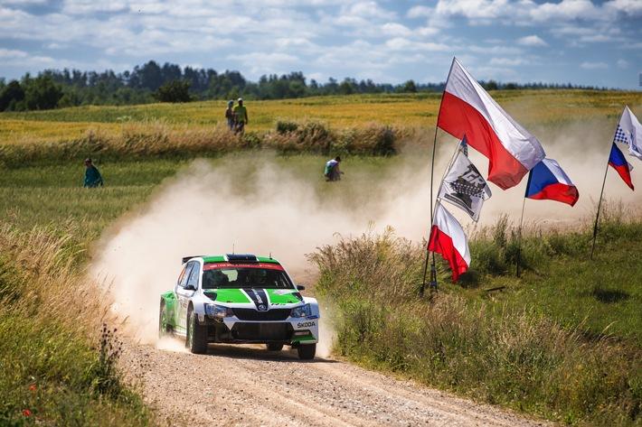 WRC 2: SKODA will bei der Vollgas-Show in Polen auf Siegkurs bleiben