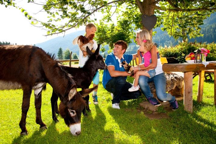 Tierischer Familienurlaub in den Bergen! - BILD