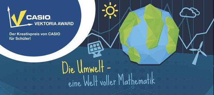 Schüler erklären beim Vektoria Award wie Mathematik die Umwelt verständlicher macht / CASIO prämiert die besten Präsentationen zum Thema Mathe und Umwelt mit insgesamt 3.000 Euro