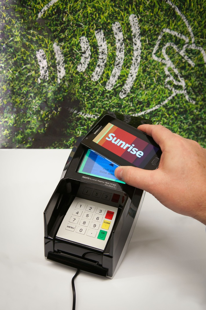 Sunrise startet erstes Pilotprojekt für Mobile Payment