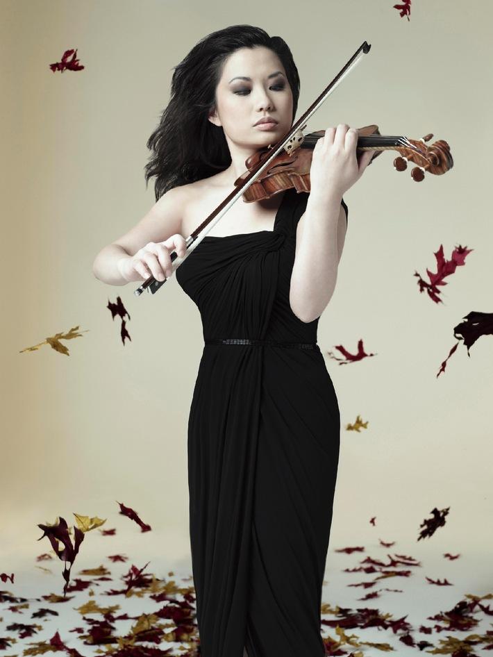 Le classique est tendance: saison 2011/2012 des Migros-Pour-cent-culturel-Classics  «Les Quatre Saisons» de Vivaldi - avec la violoniste vedette Sarah Chang