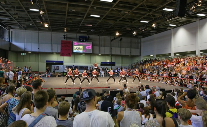 YOU 2016: Streetdance-Meisterschaft Berlin mit Rekordbeteiligung