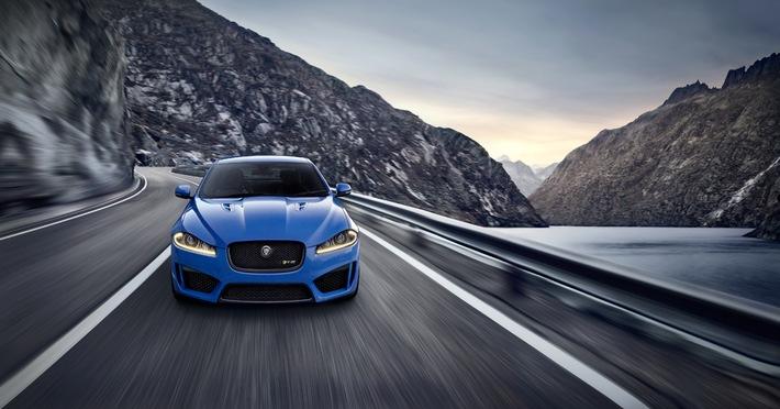Première européenne au Salon de l'Automobile de Genève: JAGUAR XFR-S - 550 ch sous le capot et 300 km/h chrono
