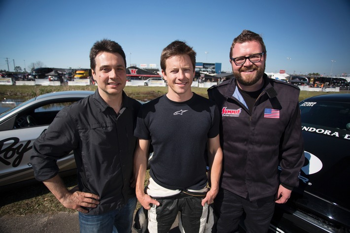 Neu bei RTL II: Top Gear USA bietet hochklassiges Motor-Entertainment!