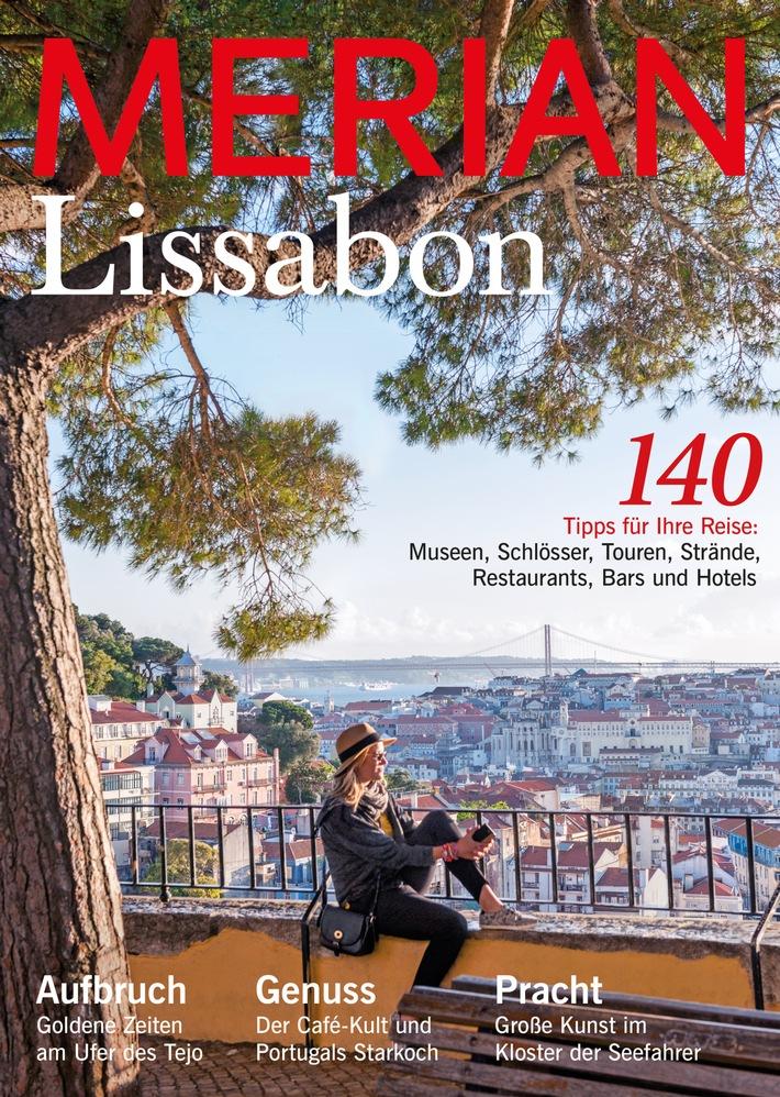 Neu: MERIAN Lissabon erscheint am 22. September 2016 / Lissabon - Das große Trendziel unter den Städtereisen in Europa
