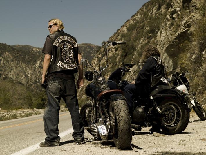 """Rock hard! """"Sons of Anarchy"""" ab 6. November 2012 als Free-TV-Premiere bei kabel eins (BILD)"""