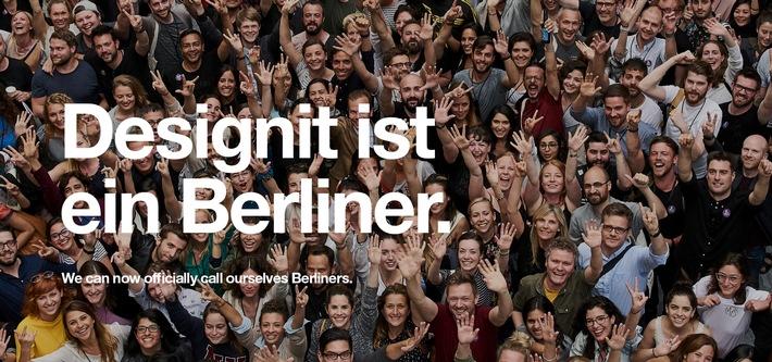 Designit ist ein Berliner! / Nach New York eröffnet die Design- und Innovationsagentur nun auch ein neues Studio in Deutschlands Hauptstadt