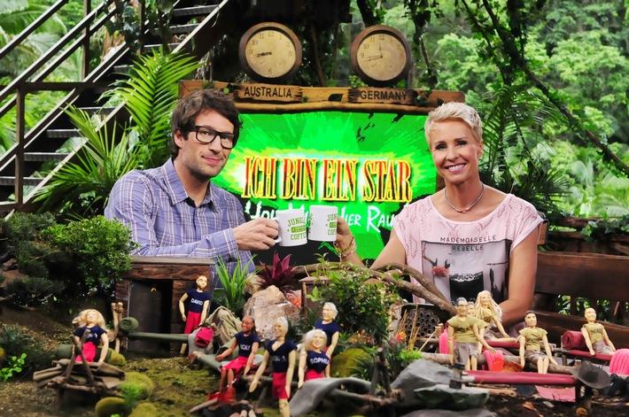 Dschungelkönig Menderes & Co. für den guten Zweck nach Hause holen /  United Charity versteigert Dschungelcamp-Puppen von allen Kandidaten zugunsten von RTL - Wir helfen Kindern
