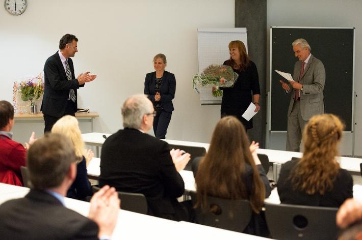 Therapie für das Gehirn / Marcela Lippert-Grüner hält Antrittsvorlesung an der Hochschule Fresenius in Köln