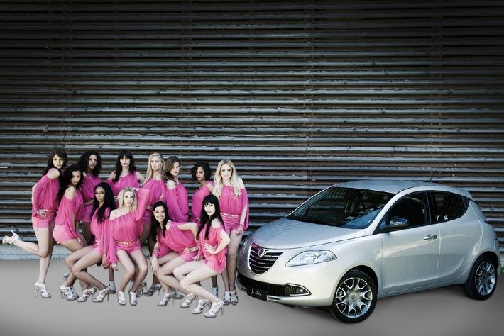Lancia: Una nuova Lancia Ypsilon per la nuova Miss Svizzera