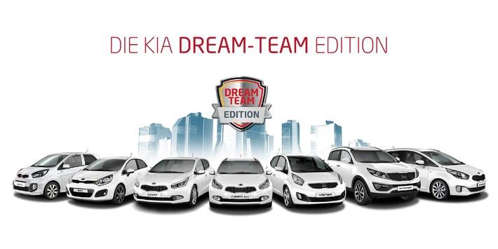 """Heißer Herbst bei Kia: Comeback der beliebten Sondermodelle """"Dream-Team Edition"""""""