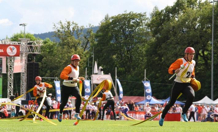 Sieben Mal Gold für Feuerwehr-Team Deutschland / Höchstleistungen in Feuerwehruniform / Großes Lob an Gastgeber Österreich