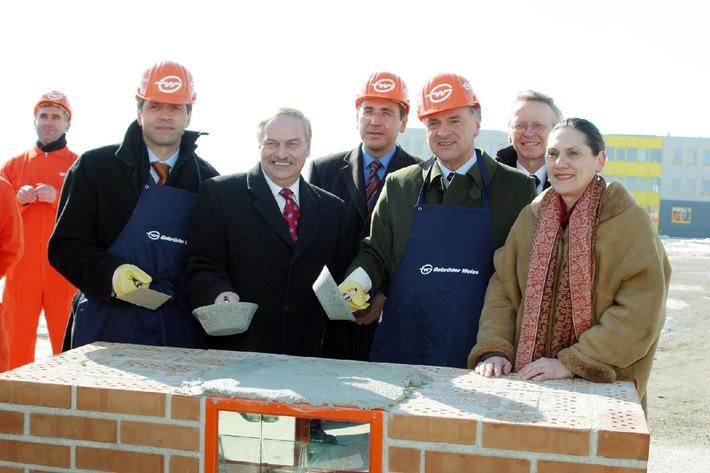 Baustart für 50 Mio-Logistikzentrum