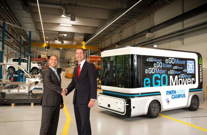 Innovativer People und Cargo Mover für den Stadtverkehr der Zukunft