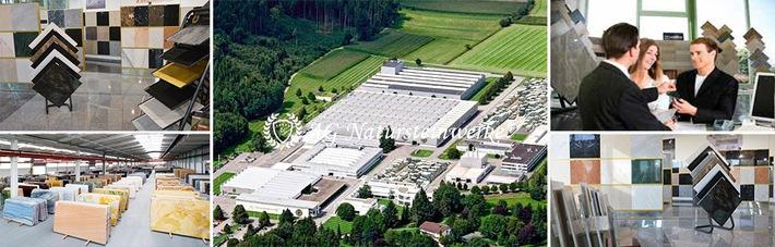 Innovative High-Tech Fugen und zeitlos moderne SkyStairs (schwebende Treppen) / Patentierte Verfahren der AG Natursteinwerke mit Hauptsitz in Gütersloh