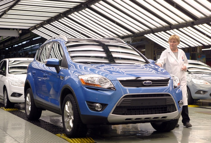 100.000 Ford Kuga aus dem Werk Saarlouis (mit Bild)