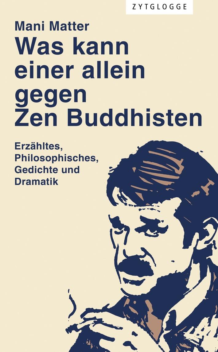 Migros-Kulturprozent: Literarische Herausgeberförderung 2016 / «Schätze heben»: 40'000 Franken für Texte von Fritz Zorn und Mani Matter