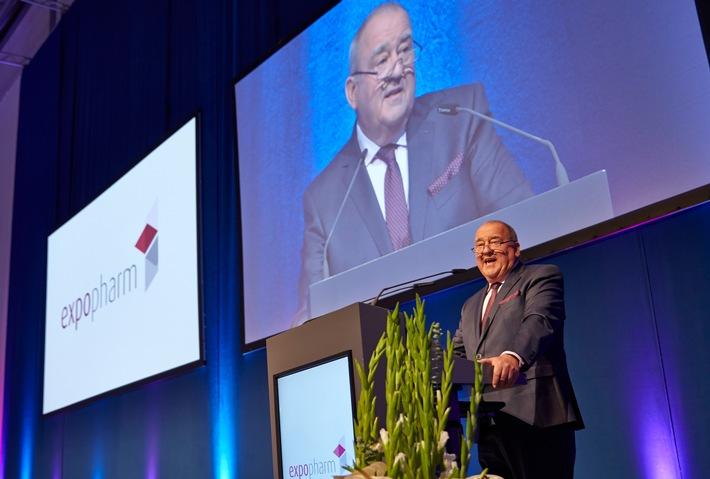in Expopharm: DAV-Vorsitzender Becker fordert Krankenkassen zu fairer Vergütung apothekerlicher Leistungen auf
