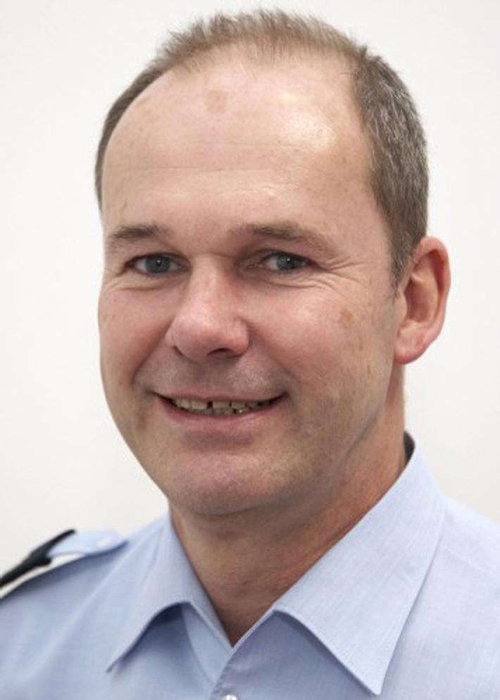 Polizeihauptkommissar Jörg Marsall, Verkehrssicherheitsberater der Direktion Verkehr für die Stadt Hilden