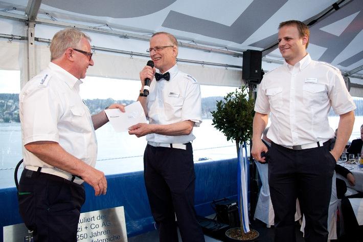 """250 Jahre Pestalozzi - erste Rundfahrt mit der """"MS Pestalozzi"""" eröffnet"""