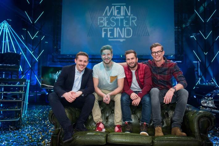 """Feuer und Flamme für die Freundschaft: ProSieben-Show """"Mein bester Feind"""" überzeugt mit starken 13,0 Prozent Marktanteil"""