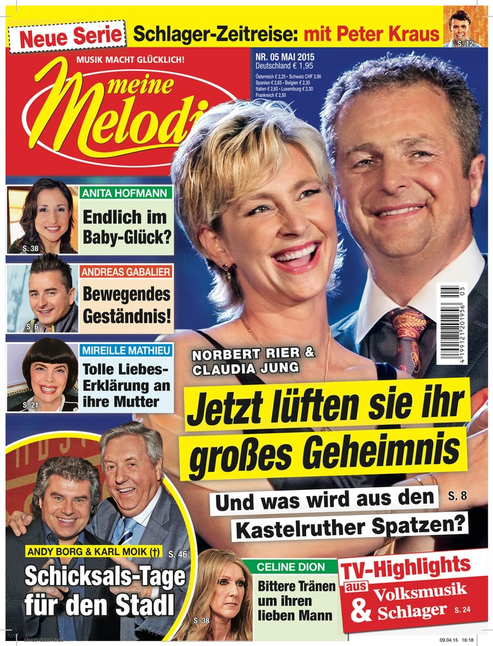 """Andreas Gabalier: """"Ich bin doch auch so ein bisschen wie Heidi!"""""""