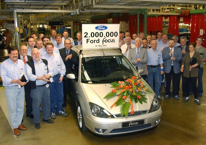 Zwei Millionen Ford Focus in Europa produziert