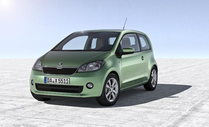 SKODA Citigo gewinnt großen Auto Bild-Vergleichstest