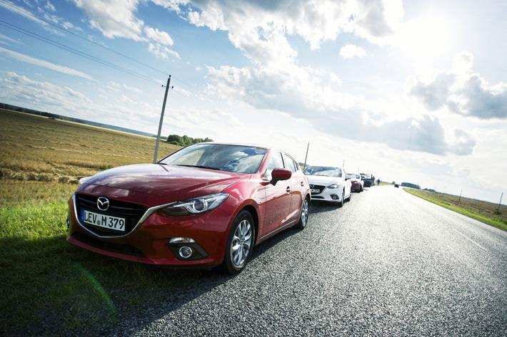 Der neue Mazda3: Mit der Zukunft verbunden (Bild)