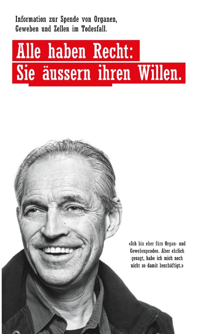 Swisstransplant: Nationaler Tag der Organspende am 8. September 2012