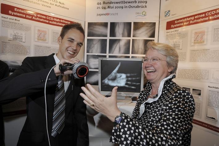 Mit Nattern und Nanopartikeln: Jugend forscht Sieger stehen fest