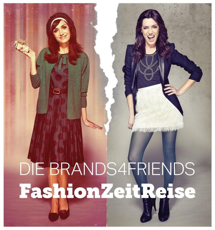 Die brands4friends FashionZeitReise - Die Suche nach den Glamour-Looks aus vier Mode-Dekaden