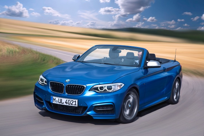 BMW auf dem Mondial de l'Automobile Paris 2014.