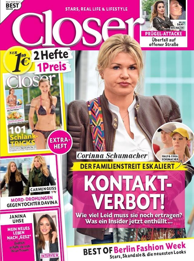 """""""GZSZ""""-Star Janina Uhse in Closer: """"Ich kann jederzeit zurückkommen"""""""