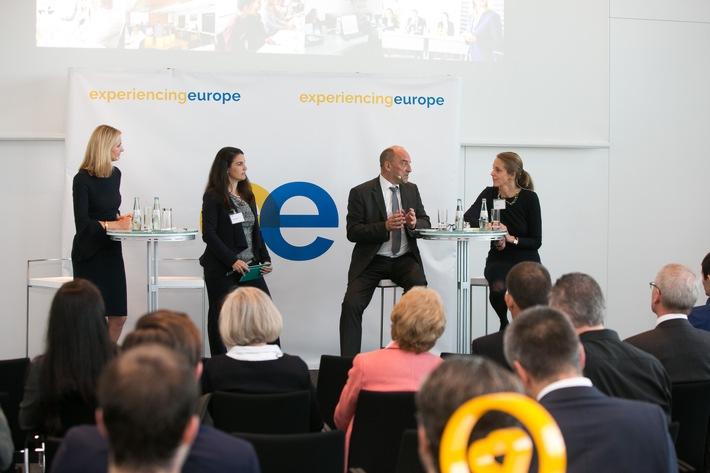 """Europa erleben - Initiative """"Experiencing Europe"""" gestartet"""